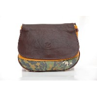 IL BISONTE a2433 Cowhide Cross Body Bag イルビゾンテ カウハイド クロスボディーバッグ