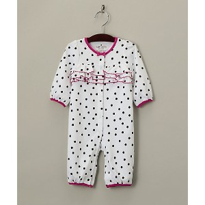 【SALE(伊勢丹)】 kate spade new york childrenswear/kate spade new york childrenswear  ロンパース シロ 【三越・伊勢丹...