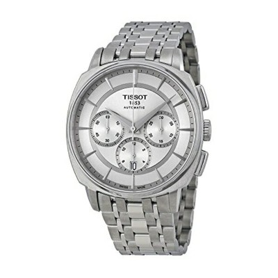 ティソ Tissot 腕時計 メンズ 時計 Tissot Men's T0595271103100 T Lord Analog Display Swiss Automatic Silver Watch