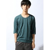【SALE/31%OFF】ZIP FIVE (M)ZIP FIVE 20/天竺Uネック6分袖カットソー ジップファイブ カットソー【RBA_S】【RBA_E】