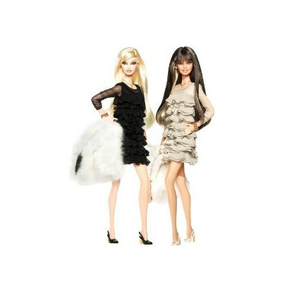 Barbie(バービー): Collector Juicy Couture Giftset - Gold Label ドール 人形 フィギュア