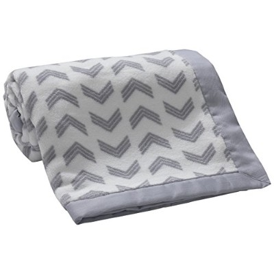 Lambs & Ivy Jensen Collection Coral Fleece Blanket by Lambs & Ivy
