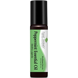 Plant Therapy Peppermint Pre-Diluted Roll-On 10 ml (1/3 oz) 100% Pure, Therapeutic Grade