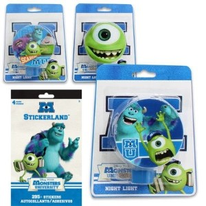 Disney Monsters U夜ライトギフトセットfor Kids–3Monsters U Night Lights ( 3楽しいデザインfeaturing Mike、Sully and...