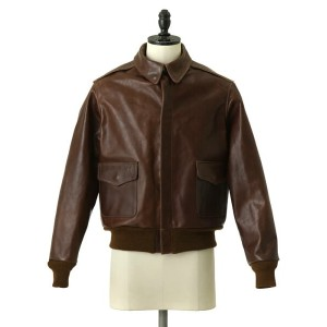 【ポイント10倍対象商品!】BUZZ RICKSON'S / A-2 CONTRACT No.W535 AC16159 CHEVRON ZIP RED SLIK LINING (フライトジャケット...