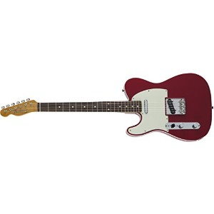 Fender エレキギター MIJ Traditional 60s Telecaster® Custom Left-Hand Rosewood Torino Red