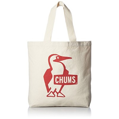 [チャムス] CHUMS Booby Canvas Tote Red2