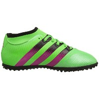 Adidas JUNIOR Ace 16.3 Primemesh TF -Turf Soccer Shoes (Solar Green-Shock Pink-Black)/サッカー シューズ Ace...