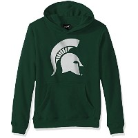 """NCAA Michigan State Spartans Boys RP FLC Hoodie """" Primaryロゴ、""""ハンター、Small ( 8)"""
