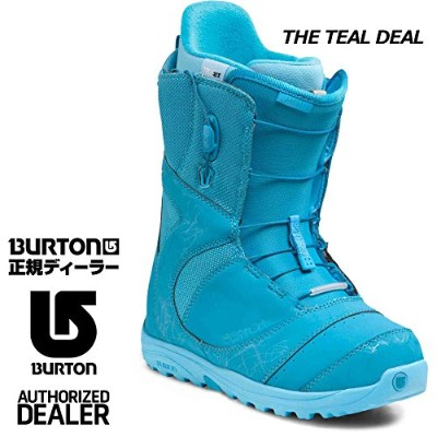 BURTON バートン 2013-14 WOMENS BOOTS レディースブーツ MINT - ASIAN FIT (THE TEAL DEAL, US5/22cm)