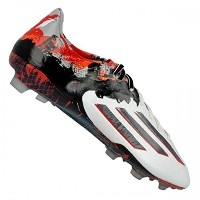 ADIDAS MESSI 10.1 FG SOCCER CLEATS(WHITE/GRANITE/SCARLET)/サッカースパイク MESSI 10.1 FG (8- 26.0cm)