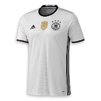 Adidas Germany Home Soccer Jersey Euro 2016/サッカーユニフォーム ドイツ ホーム用 背番号なし Euro 2016 (3X-Large)