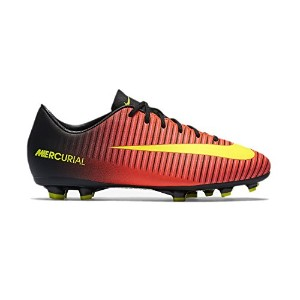 NIKE JUNIOR MERCURIAL VAPOR XI FG (Total Crimson/Black/Pink Blast/Volt) /サッカー スパイク マーキュリアル ヴェイパー XI...