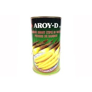 AROY-D BAMBOO SHOOT (TIPS) IN WATER / POUSSE DE BAMBOU / タケノコホール 750g 小竹笋