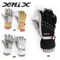 X-niX グローブ GINGAM 5F GLOVES XN288GL55 M BK