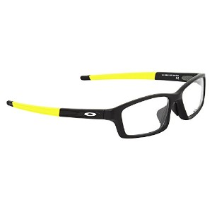 OX8041 1856 サイズ OAKLEY (オークリー) メガネフレーム OX8041-1856 CROSSLINK PITCH ASIA FIT Satin Black Team Yellow...