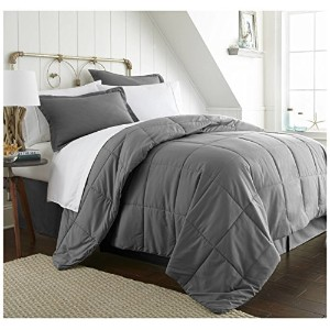 iEnjoyホーム8pieceホームコレクションBed in aバッグ TwinXL グレー IEH-MULTI-TWINXL-GRAY