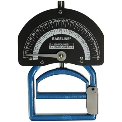 Baseline® Dynamometer - Smedley Spring - Adult - 220 lb Capacity