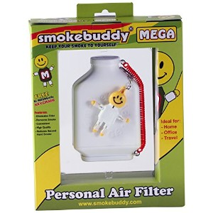 Smokebuddy Mega White Personal Air Filter by Travel assets inc. dba smokebudd