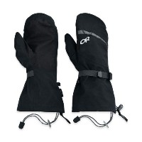 OUTDOOR RESEARCH(アウトドアリサーチ) Mt Baker Shell Mitts Black Lサイズ