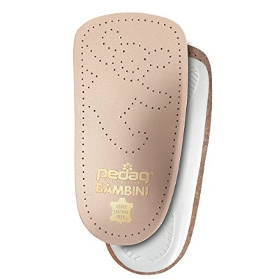 Pedag 192 Bambini APMA Accepted 3/4 Children's Orthotic, Tan Leather, Toddler 8/9 ch by Pedag