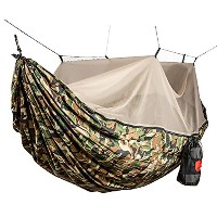 GRAND TRUNK(グランドトランク) 蚊帳付きハンモック パラシュートナイロン Skeeter Beeter Pro CAMO