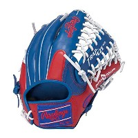 Rawlings(ローリングス)ソフトボール HOHカラーシンクパッチ Japan Limited GS7FHCL125 RY×RDロイヤル×レッド LH