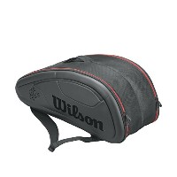 Wilson(ウイルソン) テニスラケットバッグ FEDERER DNA BACKPACK (フェデラー DNA バックパック) 12本収納可能 WRZ832712