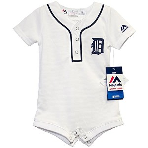 Detroit Tigers Homeクールベース新生児ロンパース 0-3 Months