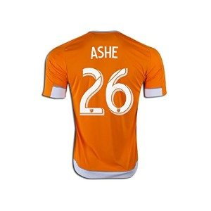 Adidas ASHE #26 Houston Dynamo Home Jersey 2016 (Authentic name & number) /サッカーユニフォーム ヒューストン・ダイナモ...