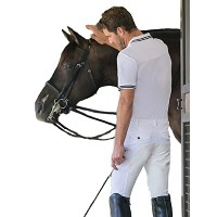 Goode Rider Mens Pro Breechesフルシートホワイト34