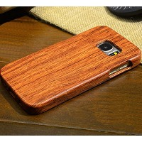 Galaxy Note4 ケース, Handmade Rosewood Wooden Sculture Texture カバー, TAITOU Ultra Slim Thin Combined...