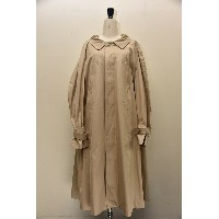 NEHERA ネヘラ COMI coat modern trench cotton twill col.DARK BEIGE