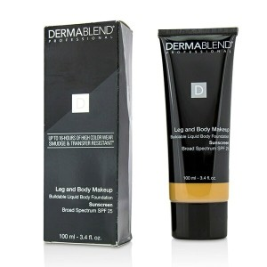 DermablendLeg and Body Make Up Buildable Liquid Body Foundation Sunscreen Broad Spectrum SPF 25 - ...