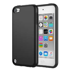iPod Touch 6 ケース - ATiC Apple iPod touch 第6世代 /iPod Touch 第5世代 用PC+TPU製 組み立て式保護ケース BLACK