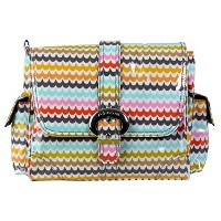 Kalencom Midi Coated Diaper Buckle Bag, Spa by Kalencom