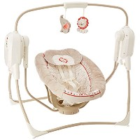 Fisher-Price Spacesaver Cradle N Swing by Fisher-Price