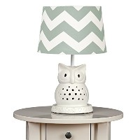 Living Textiles Lamp Base and Shade, Owl by Living Textiles
