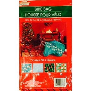 Bicycle Gift Wrap Bag Christmas 60' X 72' (Assorted, Designs Vary) by Greenbrier