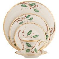 Lenox 5-piece Holiday NouveauゴールドPlace Setting 875552