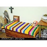 RUG&PIECE Mexican Serape made in mexcico ネイティブ メキシカン サラペ メキシコ製(rug-5715)