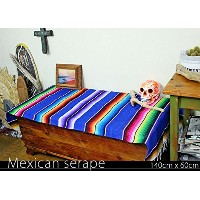 RUG&PIECE Mexican Serape made in mexcico ネイティブ メキシカン サラペ メキシコ製(rug-5717)
