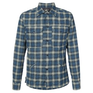 Rrl - checked shirt - men - コットン - M