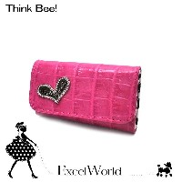 Think Bee! シンクビー キーケース 6連 Just Heart ズー ピンク A001063【あす楽 】