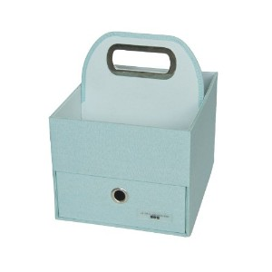 JJ Cole Heather Diaper and Wipes Caddy, Blue by JJ Cole