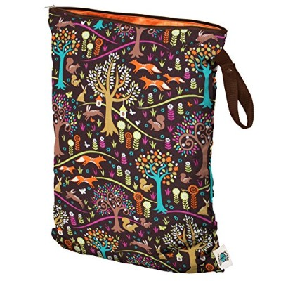 Planet Wise Wet Diaper Bag, Jewel Woods, Large by Planet Wise