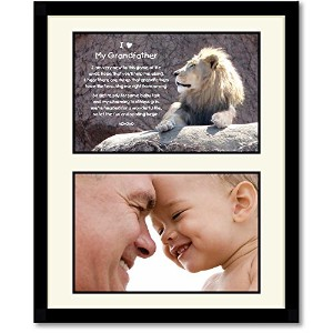 Grandfather Birthday or Christmas Gift - Sweet Poem for Grandpa - Add Photo by Poetry Gifts