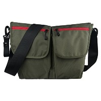 ECOSUSI Dude Diaper Bag for Dads Men's Messenger Bag Army Green by ECOSUSI