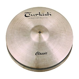 Turkish Cymbals Classic Series 14-inch Classic Hi-Hat Rock * C-HR14