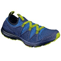 Salomon CROSSAMPHIBIAN MEN L39470600 [Nautical Blue/Blue Depths/Lime Punch] 27.0cm サンダル&ウォーターシューズ...
